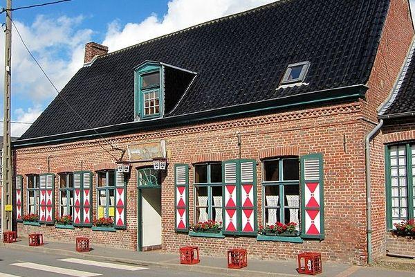 Estaminet à Godewaersvelde (Nord).
