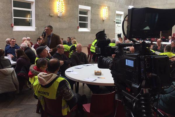 Le Grand débat national à Bertry, c'est à suivre sur France 3 Nord Pas-de-Calais