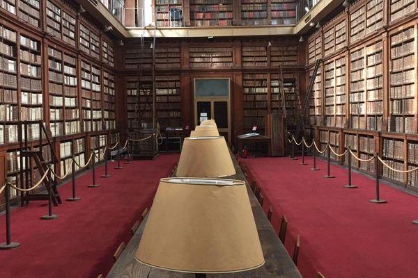 La salle patrimoniale de la bibliothèque Fesch