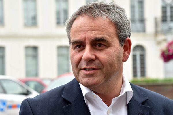 Xavier Bertrand, tête de liste aux régionales pour Les Républicains.