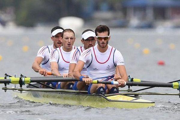 Franck Solforosi, Thomas Baroukh, Guillaume Raineau et Thibault Colard.