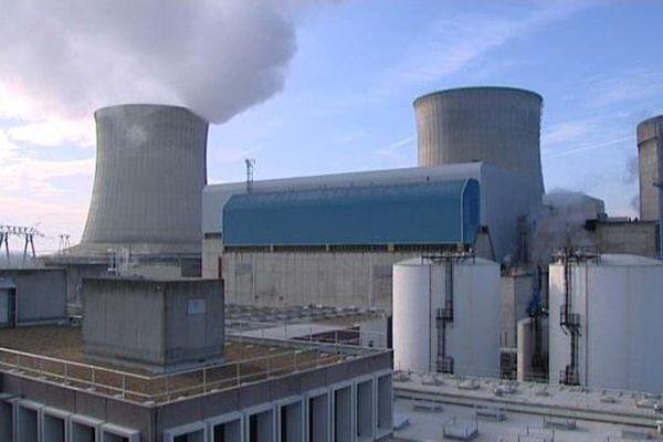 Centrale nucléaire de Saint-Laurent-des-Eaux (Loir-et-Cher)