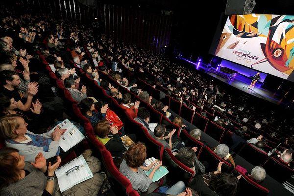 """Le 3 février 2017, première séance du 39ème Festival du Court Métrage de Clermont-Ferrand, surnommé le """"Cannes du Court""""."""