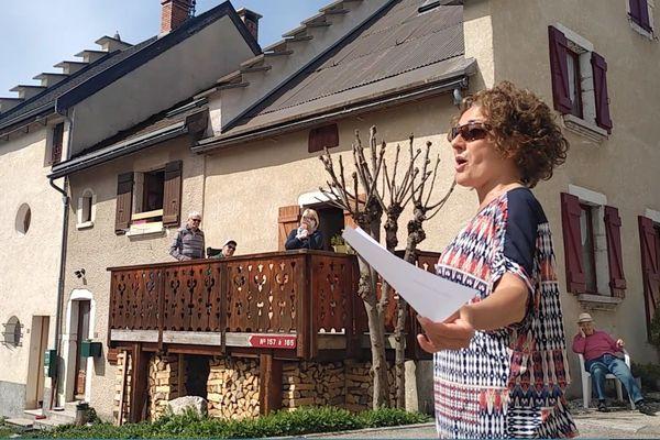 Florence Corbalan rue du Tonkin à Autrans (38)