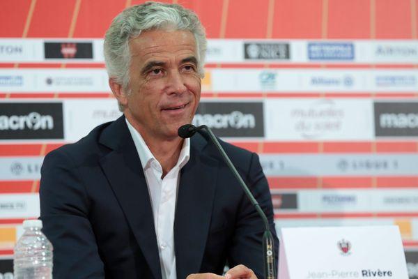 Jean-Pierre Rivière, président de l'OGC Nice, a remercié les supporters du club ce mercredi.