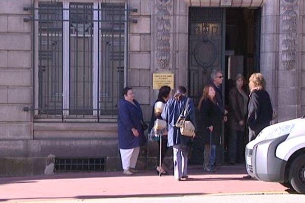 Les EVS lors d'une audience de départage organisée au conseil des prud'hommes de Limoges en octobre dernier