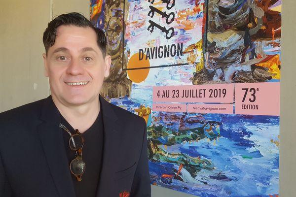 Olivier Py, présente l'avant-programme du 73ème festival d'Avignon
