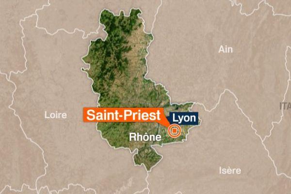 """L'auteur présumé de l'attentat contre le site """"Air Products"""" de Saint-Quentin-Fallavier, vit à Saint-Priest (Rhône)"""