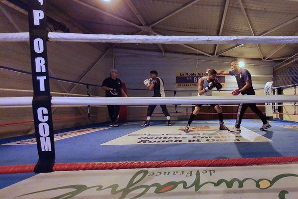 Les boxeurs du Noble art Club de Rouen savourent la reprise des entraînements et se préparent pour un gala de compétition au Cap d'Agde en août prochain.