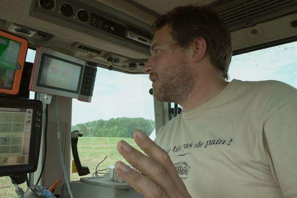 Gilles Van Kampen, agriculteur céréalier féru de nouvelles technologies