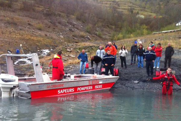 Embarquement immédiat avec les sapeurs pompiers de l'Isère