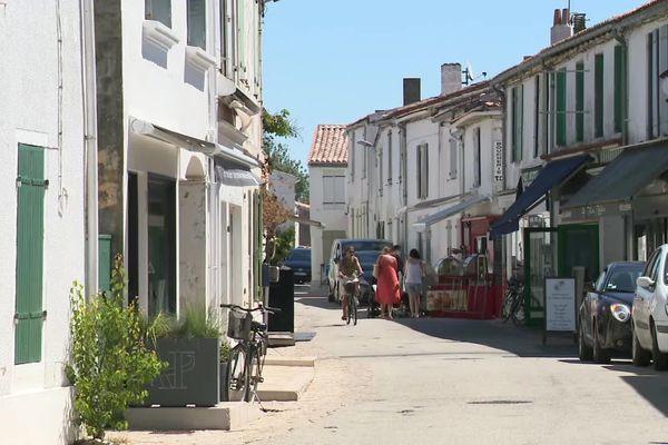 Le village des Portes-en-Ré (Charente-Maritime).