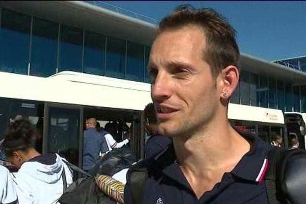 Renaud Lavillenie, de retour des JO de Rio