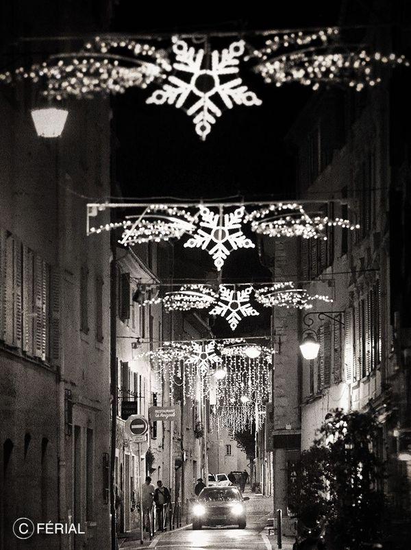 Noël 2020 dans les rues de Vence