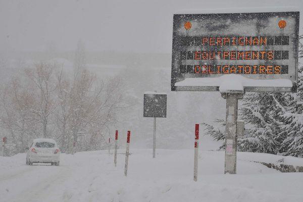 Neige à Font-Romeu - archives 2013