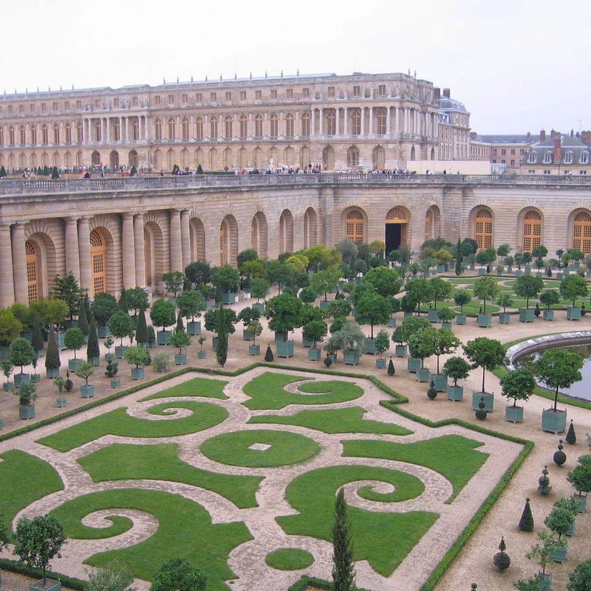 Video Du Chateau Aux Jardins De Le Notre Versailles Vu Du Ciel