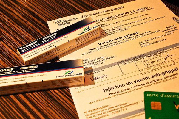 Ordonnance et vaccin anti-grippal