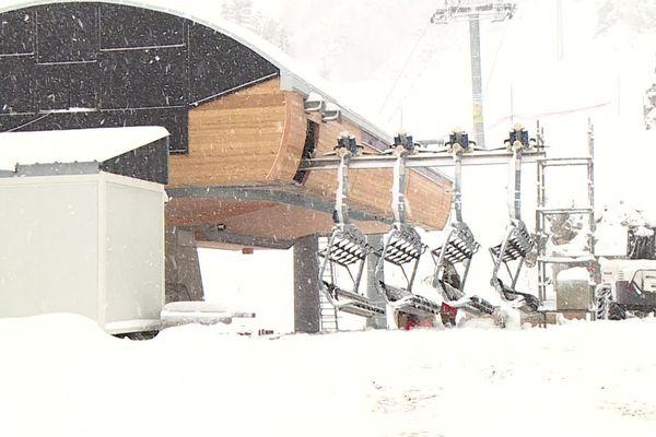 Les remontées mécaniques de La-Pierre-St-Martin accueilleront les premiers skieurs de la saison le week-end du 30 décembre 2019