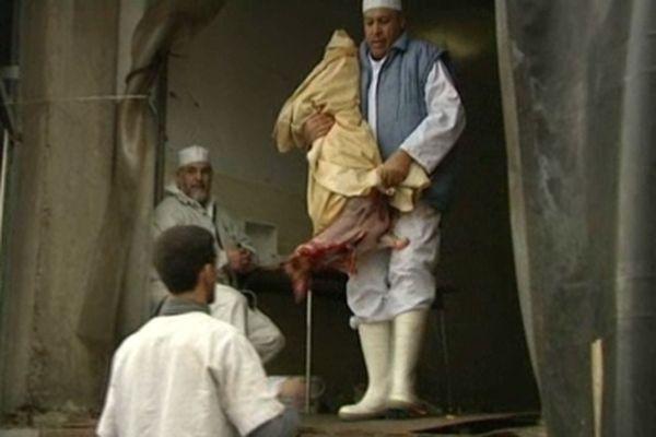 L'abattage des moutons - archives France 3