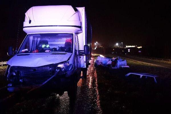 Un homme est décédé après un accident de circulation sur la départementale D901 à Ecuires.