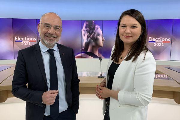 Le débat sur France 3 Grand Est sera présenté par Arnauld Salvini et Alexandra Bucur,