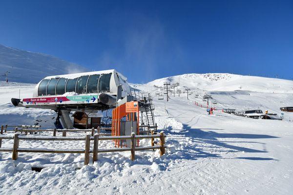 La station de ski de Saint-Lary du Pla d'Adet.