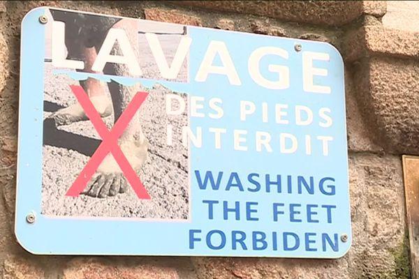 Mont Saint Michel : le lavage des pieds interdit