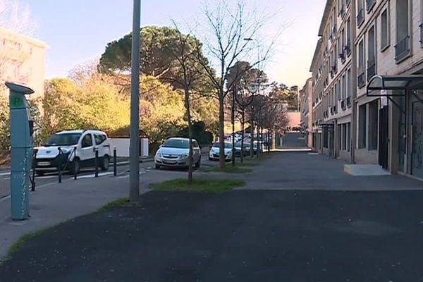 Des horodateurs sont en service dans la cité Astruc à Montpellier depuis le 15 mars, ce qui provoque la colère des habitants - 19 mars 2018