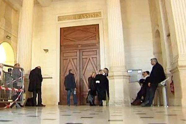 La cour d'assises du Gard, à Nîmes - archives
