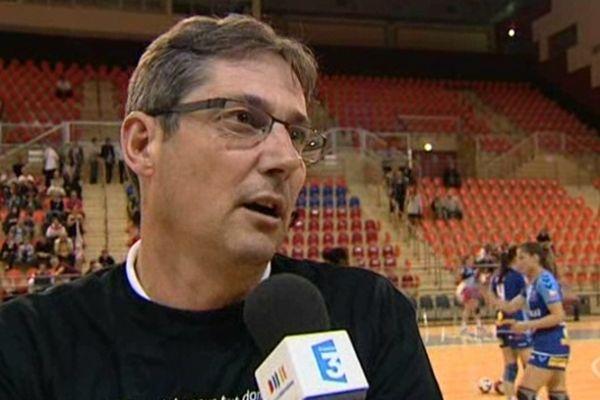 L'entraîneur dijonnais Christophe Maréchal