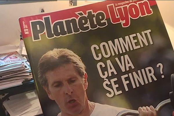 Le magazine Planète Lyon dans la tourmente depuis 2011