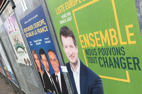 Avec plus de 17% des voix, EELV et Yannick Jadot arrivent en 2ème position à Saint-Nazaire