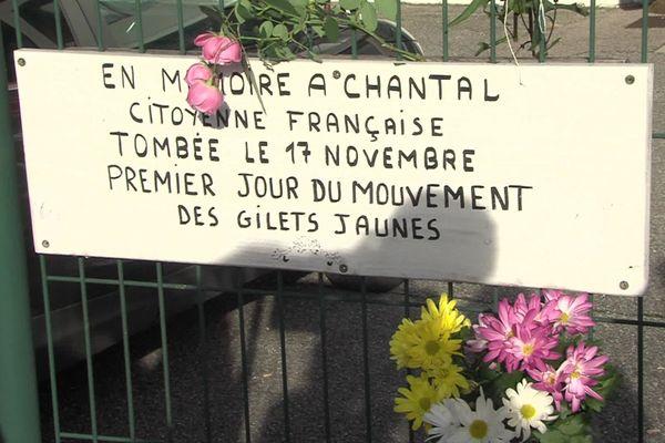 """Chantal Mazet, 63 ans, est morte renversée par une automobiliste à Pont-de-Beauvoisin au premier jour du mouvement des """"gilets jaunes""""."""