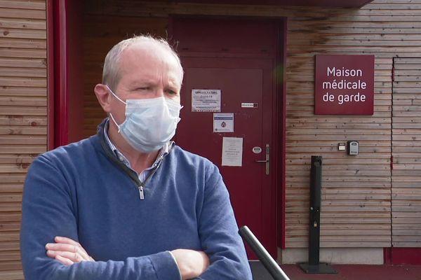 Luc Fouché, le président de l'ordre des médecins du Maine-et-Loire