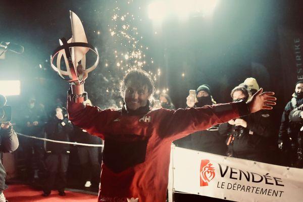 Yannick Bestaven, vainqueur du Vendée Globe 2020-2021