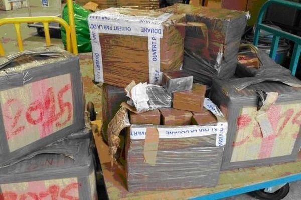 Saisie de 310 kg de résine de cannabis au Perthus