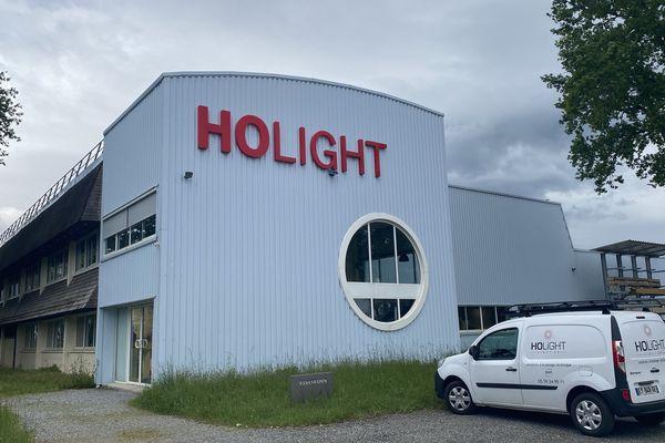 L'entreprise Holight fabrique des luminaires à Ogeu-les-Bains