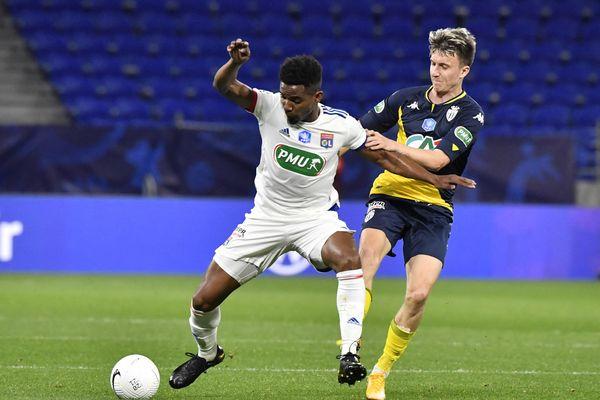 L'Olympique lyonnais n'ira pas en 1/4 de finale de la Coupe de France de football.