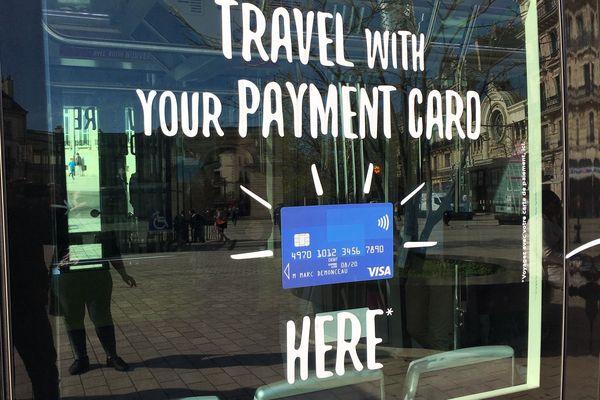 Le réseau Divia avait procédé à l'installation du paiement par carte bancaire sans contact dans les bus et les tram il y a un an