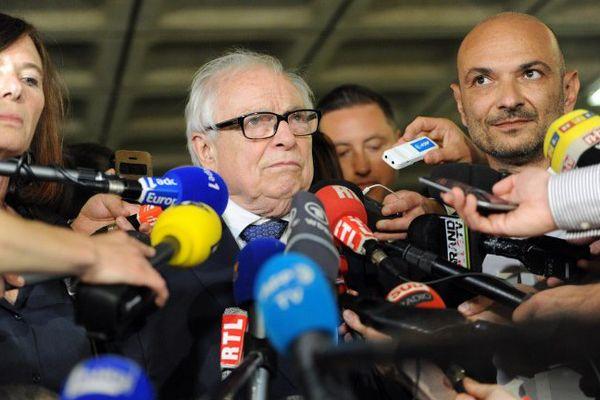 Les avocats de DSK à Lille ce vendredi.