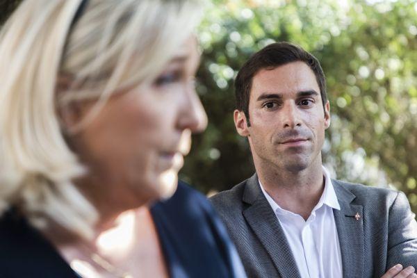 Marine Le Pen et Julien Odoul, septembre 2020.