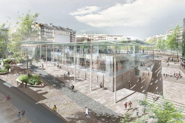La Place de la République telle qu'elle devrait être en 2020