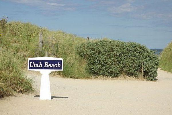 Panneau de Utah Beach