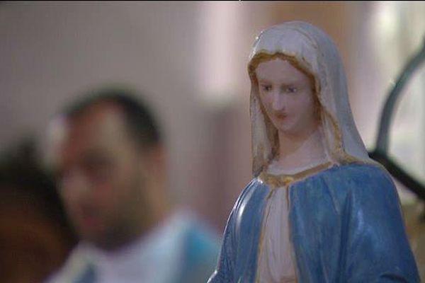 La vierge Marie, célébrée à Nonza, le 15 août 2015