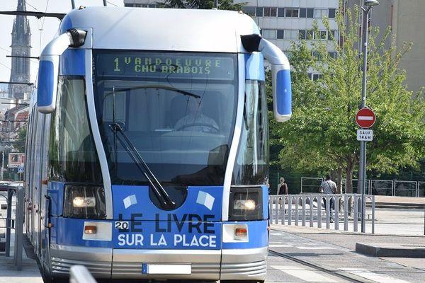 Tramway à Nancy