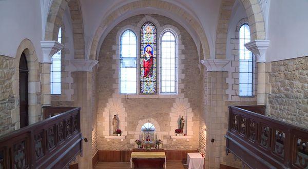 La chapelle du Sacré-Cœur, pièce maîtresse du couvent Saint-Paul de Thiviers.