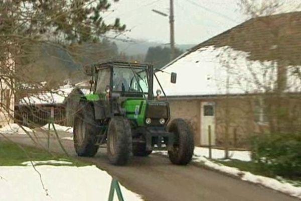 Le fameux tracteur vosgien