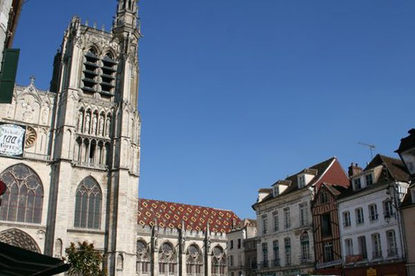 La cathédrale de Sens dans l'Yonne