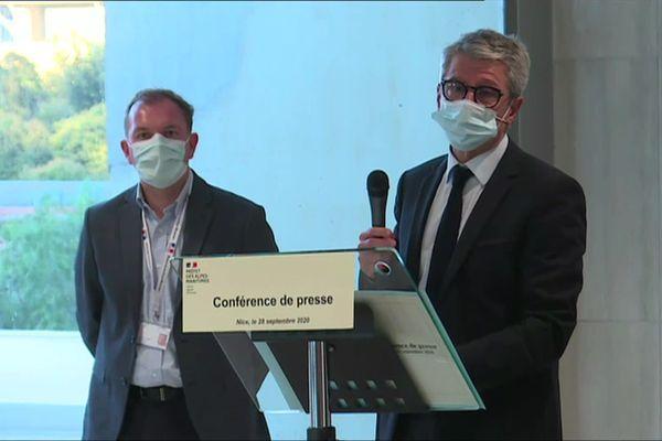 Le préfet des Alpes-Maritimes a précisé ce lundi 28 septembre les mesures sanitaires prises dans le département.