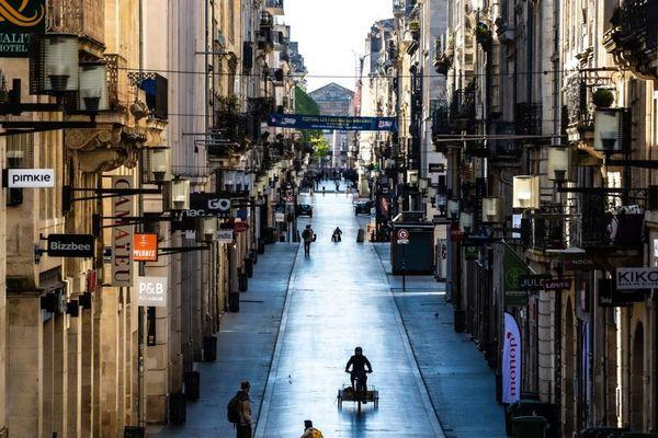 Le port du masque sera obligatoire rue Ste-Catherine et rue Porte Dijeaux à partir du 11 mai